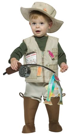 Rasta Imposta Future Fisherman Costume, Brown, Months: It is never too early to have your child start dressing the part (or for you to start dreaming) the future fisherman costume is sure to be a hit this halloween Toddler Boy Halloween Costumes, First Halloween, Baby Costumes, Halloween Kids, Infant Halloween, Costume Halloween, Purim Costumes, Children Costumes, Cheap Halloween