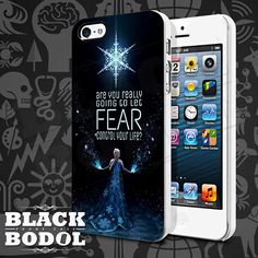 Frozen Quote Phone Cas  Frozen Case  Rubber and by BLACKBODOL, $13.99