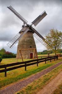 Windmühle Hausberge HDR