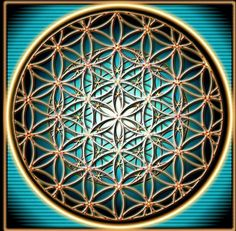 fractalized flower of life - the flower of life has been known to man for at least 2,500 years - it was first 'discovered' in ancient meopotamia at king ashurbanipal's palace (645 b.c.). the sacred symbol can also be found in assyria, egypt, india, romania, israel, china, japan, bulgaria, turkey, spain, austria, italy, morocco, lebanon, peru, mexico & england.