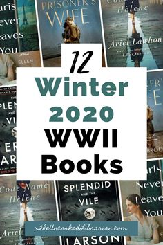 Are you looking for new WWII books to read this 2020? These are some of the hottest new WW2 books in Winter 2020, including WWII historical fiction, books set during World War 2, books about WW2, and WW2 nonfiction. Reading Lists, Book Lists, Best Historical Fiction Books, Indie Books, Reading Rainbow, Fiction And Nonfiction, Neil Gaiman, Best Books To Read