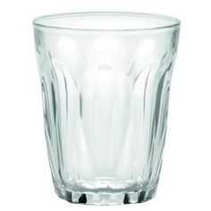 Duralex Provence Tumbler, Clear, 3-ounce, Set of 6