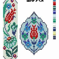 Bead Loom Bracelets, Beaded Bracelet Patterns, Bead Loom Patterns, Peyote Patterns, Beading Patterns, Cross Stitch Patterns, Jewelry Patterns, Beading Projects, Beading Tutorials