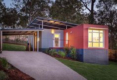 Homes Made of Shipping Containers  ~ Great pin! For Oahu architectural design visit http://ownerbuiltdesign.com