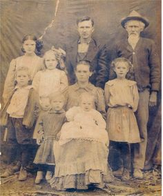 Grandma:B/L Laura Bell White Milligan(1900-1993); GreatGrandparents: Dave White(1875-1961) & Louzy Pollard White((1874-1967) and GreatGreatGrandfather: William Pollard(1858-1932)