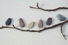Simple bird decoration
