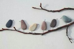 Simple bird decoration