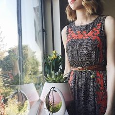 Embroidered Isolde Maxi Dress #Anthropologie #MyAnthroPhoto