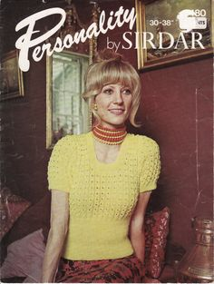 COPY Instant Download VINTAGE KNITTING Sirdar by retrochick66, $2.55