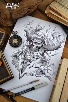 Inktober day 3 :) by Dibujante-nocturno on DeviantArt