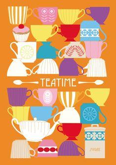 """""""tea time"""" by Bindi Booth"""