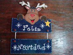 Manualidades y Creaciones de Gretti: Mis pinturitas en madera para navidad