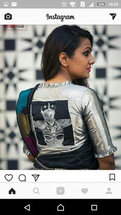 Blouse Back Neck Designs, Simple Blouse Designs, Sari Blouse Designs, Saree Blouse Patterns, Designer Blouse Patterns, Blouse Styles, Indian Blouse, Collection, Stylish