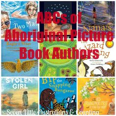 Seven Little Australians & Counting: ABC's of Aboriginal Picture Book Authors
