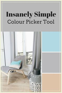 Have you ever wished you could recreate a picture's colour scheme? Now you can!! This insanely simple colour picker tool lets you figure out colours in real photos.