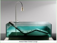 http://www.thefancy.com/things/239350769/Hoesch-Water-Chaise-Lounge - Very Cool!