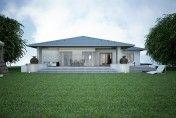 Projekt rodinného domu SKU je menším praktickým jednopodlažným projektom vhodným pre každého. Atypickou dispozíciou s priehľadom cez celý dom, štyrmi obytnými izbami, precíznou kombináciou tradičných a moderných prvkov a reprezentatívnym vstupom je ideálnym projektom pre každého, kto hľadá priestranný a praktický dom s dôrazom na detail. Outdoor Decor, Home Decor, Ideas, Decoration Home, Room Decor, Home Interior Design, Home Decoration, Interior Design