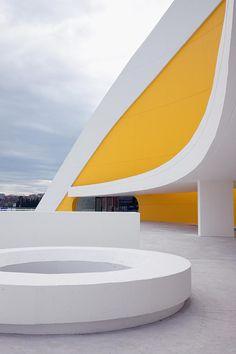 Oscar Niemeyer Kulturzentrum - Oscar Niemeyer - architektur-online : architektur-online