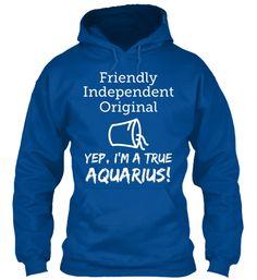 True Aquarius Hoodie - http://teeshirtscenter.com/?product=true-aquarius-hoodie