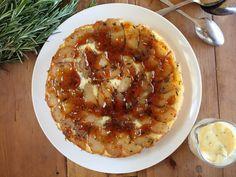 Apple, verjuice & olive oil cake - Maggie Beer