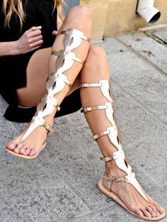 Oplitis Gladiator sandals by The Merikai Company