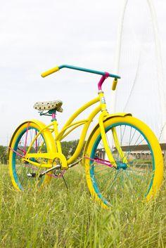 Sunshine www.villycustoms.com Custom Luxury Fashion Cruiser Bicycle