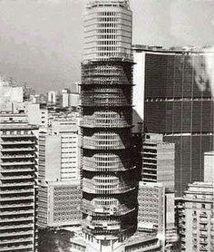 Edifício Itália em construção