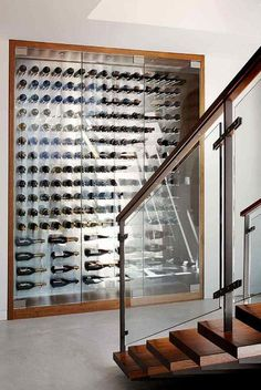 planning kitchen cabinets all glass wine cellar modern wine cellar vancouver 24770