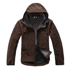 Fleece Lined Waterproof Tactical Concealed Carry Jacket