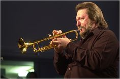 """Chuck Findley, trumpet player on the song """"Close to you"""". The same trumpet is used, overdubbed several times"""
