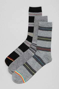 Make sure to regularly refresh your sock drawer. Urban Outfitters is offering a simple 3-pack that can go with a lot of outfits. UO, $18.