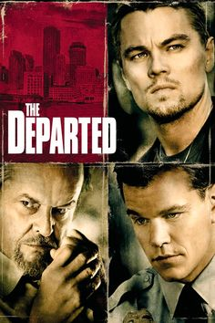 The Departed film poster - dare I say it was better than Internal Affairs? Yes!  #departed #poster #film