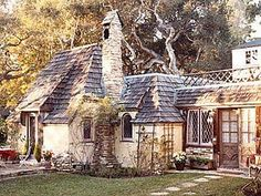 "the works of Hugh Comstock, the builder of ""Fairy Tale Cottages"" in Carmel, California, during the 1920's."