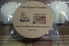 Kettle Corn by ScentAppealCandles on Etsy, $1.25