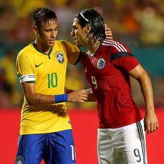 05/09/2014 #BRASIL 1 ✖ 0 #COLOMBIA  Foto: Gettyimages  _____________________________________ #Brasil #Brasileira #Brazil #Seleção #soccer #FootBall #seleçãobrasileira #CBF #Follow #FollowMe #Nike #FIFA #2014 #brazilingram #rumoaohexa #ouseserbrasileiro #BrasilFootballNationalTeam @neymarjr #10