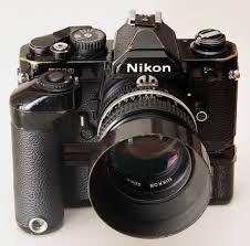 Nikon FM2 - I love this camera!  My second camera