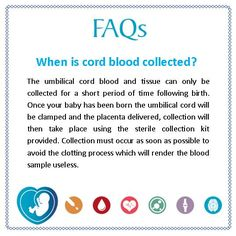 FAQ: When is cord blood collected? #CBAM