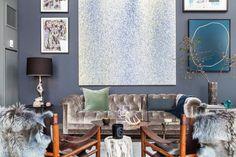 Este elegante apartamento está situado cerca de DUMBO (Down Under el paso superior del puente de Manhattan), en Brooklyn, Nueva York. Su dis...