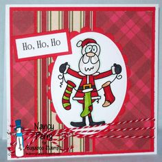 Catch The Bug Challenge Blog: Freebie Friday: Santa Stockings