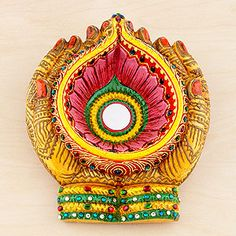 Diwali :: Painted Holding Hands Bowl   SKU #445266  $14.99