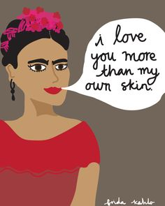 Frida Kahlo // The Sailor's Song // www.thesailorssong.com