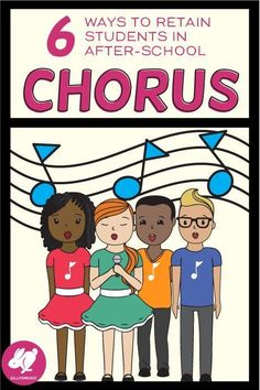 Ideas for retaining after-school chorus kids throughout entire school year! Music Education Games, Music Activities, Teaching Music, Physical Education, Movement Activities, Health Education, Music Lesson Plans, Music Lessons, Music Classroom