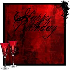 """red and black birthday"" by casstevens on Polyvore"