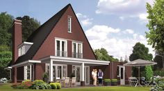Huisbouw villa Icarusblauwtje