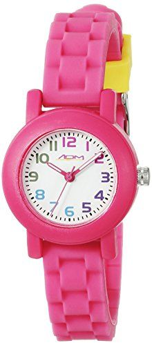 American Design Machine Jr Kids ADSG 5004 HPNK Selma Analog Display Japanese Quartz Hot Pink Watch *** Read more at the image link.