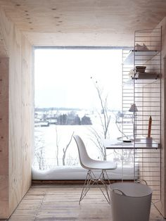Petra Bindel Interior Design Photography For String. Loove the snow