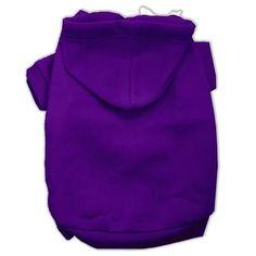 Blank Hoodies Purple Size XL (16)