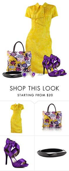 """""""Bold Spring Colour"""" by christa72 ❤ liked on Polyvore featuring Mr. Blackwell, Luichiny, Pieces and Zales"""