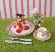 Re-ment (Rement) : Uttori Sweets / Tea Time by HarapekoDoggyBag, via Flickr