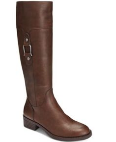 Style & Co. Astarie Riding Boots, Only at Macy's | macys.com